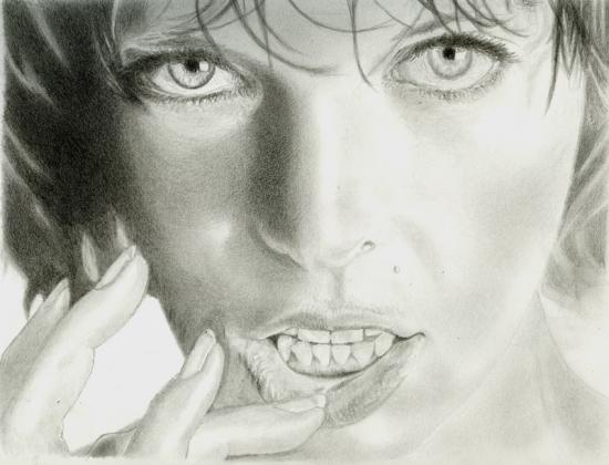 Milla Jovovich by Shige